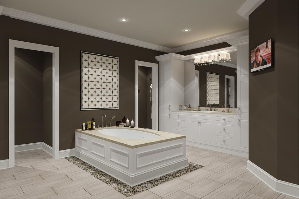 What is a designer bathroom?