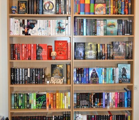 5 tips to have a more aesthetically pleasing bookshelf